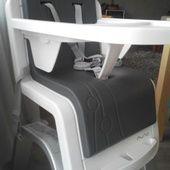 La chaise haute évolutive Zaaz de Nuna pour bébé