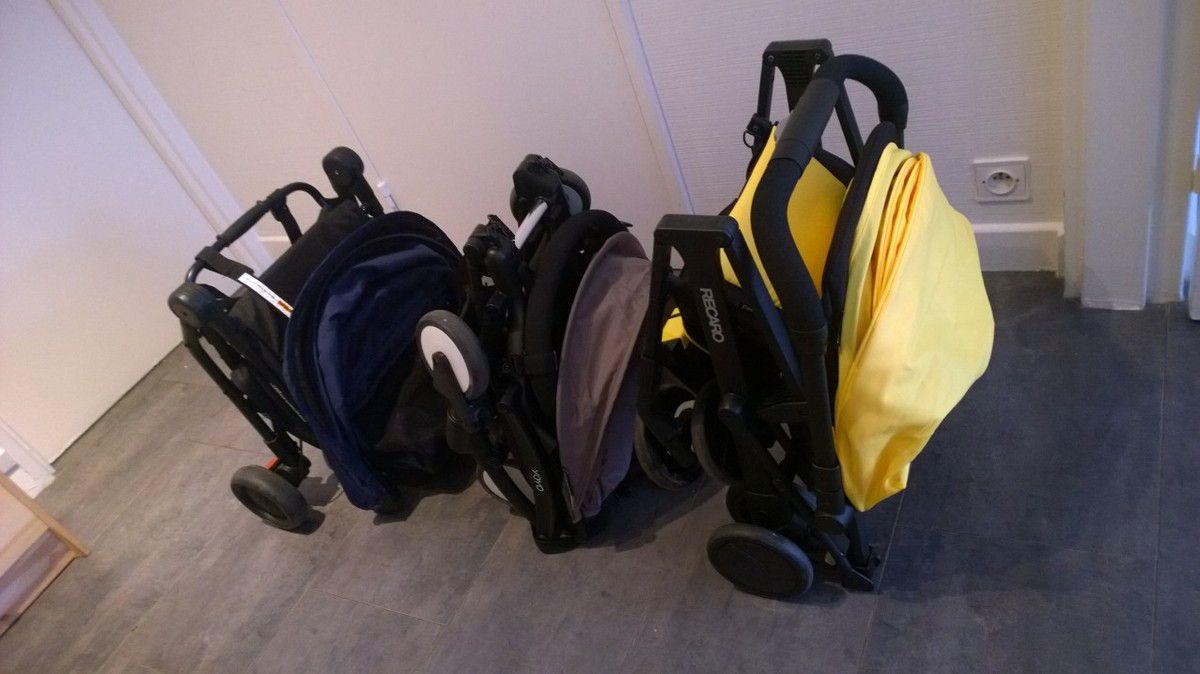Comparatif poussettes micro-compactes : yoyo, nano, easy life et city mini zip