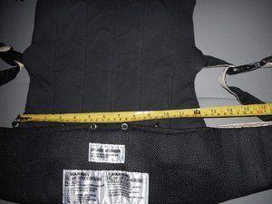 Dimensions du tablier et réglage en largeur.