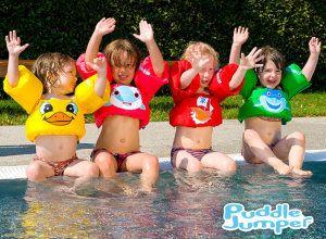 Choix des bouées pour enfant, attention au poids minimum