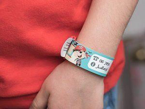 Le bracelet d'authentification Ludilabel