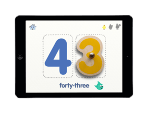 Jouet connecté Smart Numbers de Marbotic