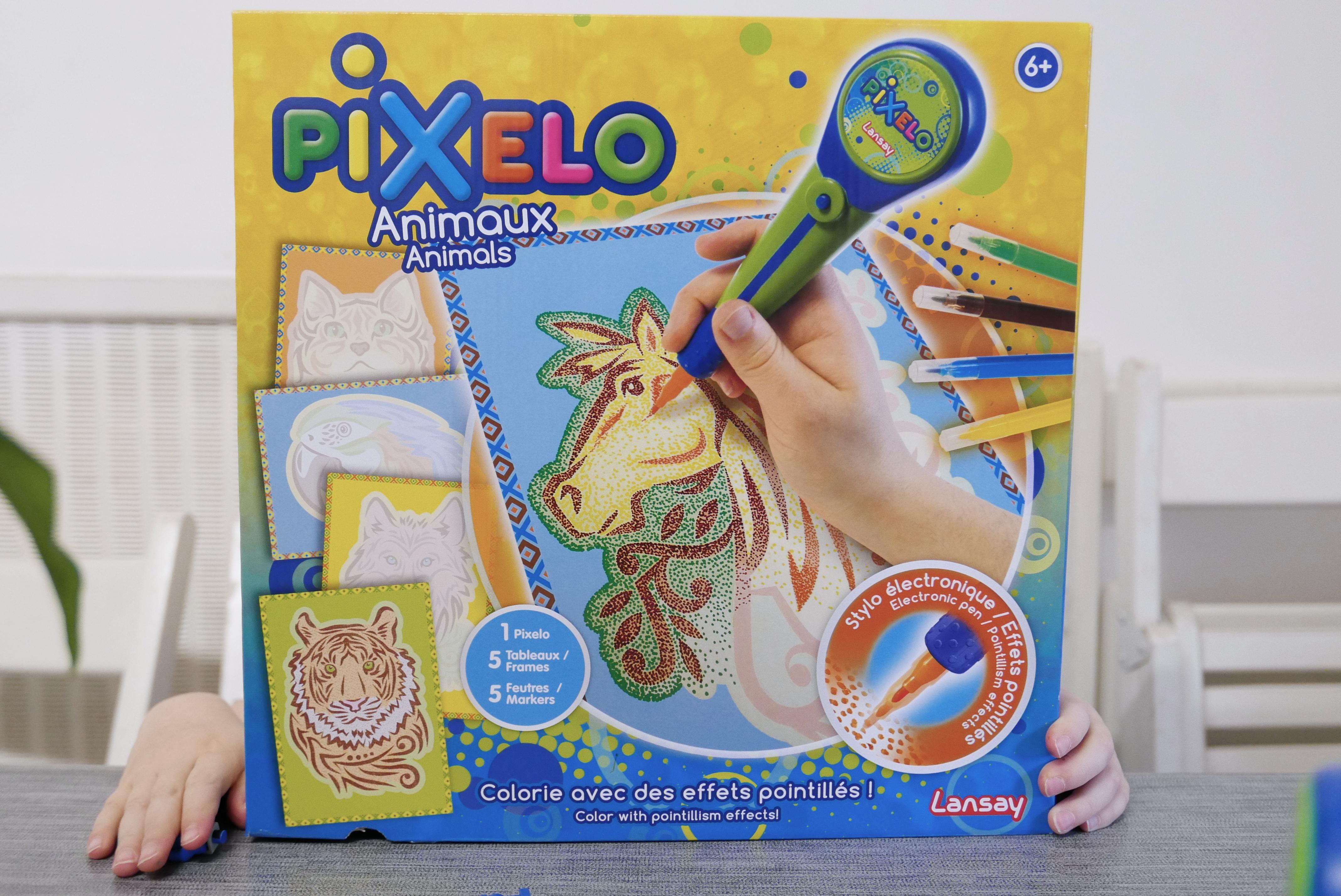 Activités enfant coloriage pochoirs spirograph test pixelo lansay blog maman