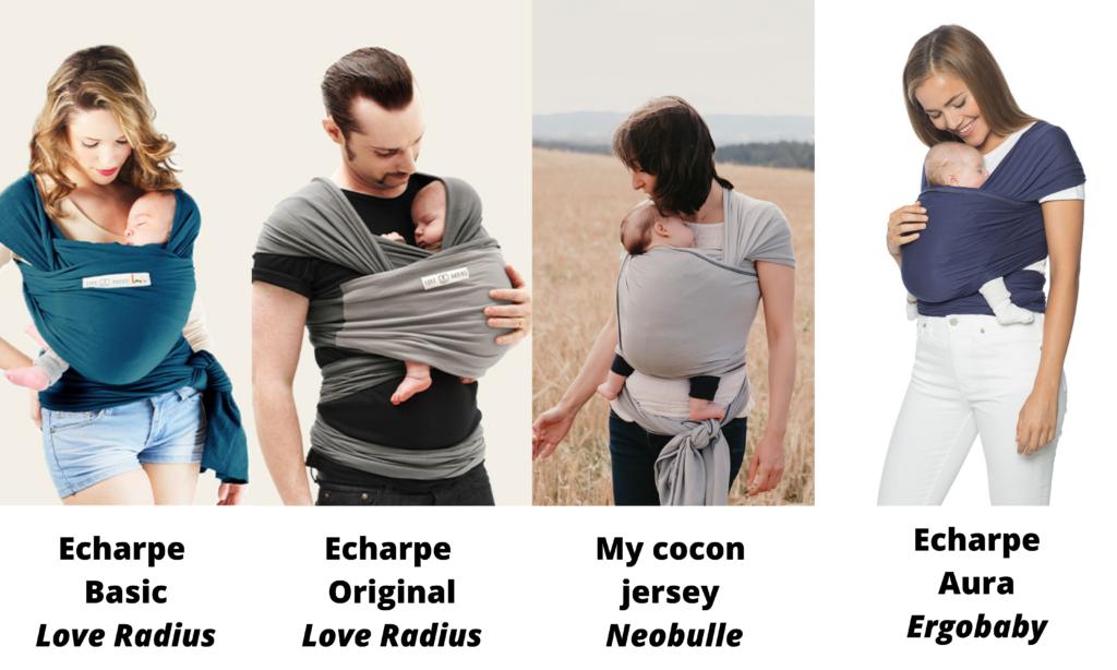porte-bébé écharpes extensibles petit prix